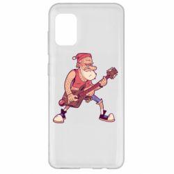 Чохол для Samsung A31 Rock'n'roll Santa