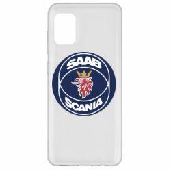 Чехол для Samsung A31 SAAB Scania