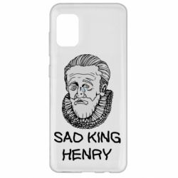Чехол для Samsung A31 Sad king henry