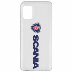 Чохол для Samsung A31 Scania Logo