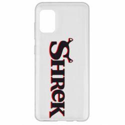 Чехол для Samsung A31 Shrek