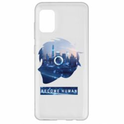 Чохол для Samsung A31 Silhouette City Detroit: Become Human