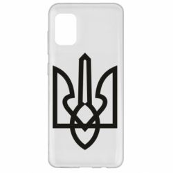Чехол для Samsung A31 Simple coat of arms with sharp corners