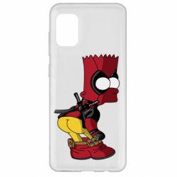 Чохол для Samsung A31 Simpson Kiss my Ass Deadpool