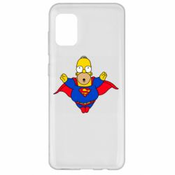 Чехол для Samsung A31 Simpson superman