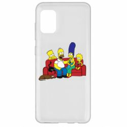 Чехол для Samsung A31 Simpsons At Home