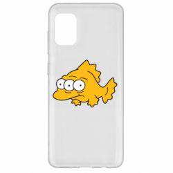 Чехол для Samsung A31 Simpsons three eyed fish
