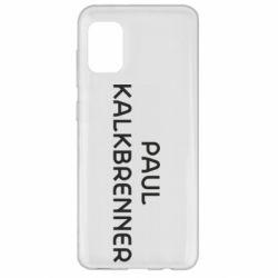 Чохол для Samsung A31 Singer Paul Kalkbrenner