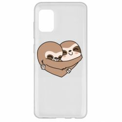 Чохол для Samsung A31 Sloth lovers