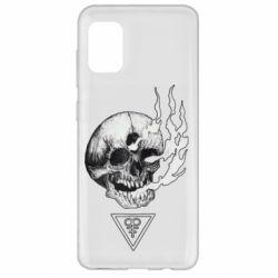 Чохол для Samsung A31 Smoke from the skull