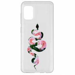 Чохол для Samsung A31 Snake and roses