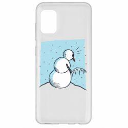 Чохол для Samsung A31 Snowman. It's Cold!