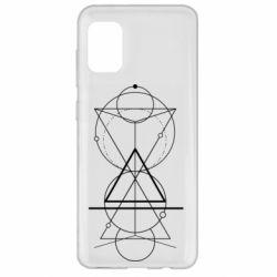 Чохол для Samsung A31 Сomposition of geometric shapes