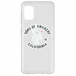 Чехол для Samsung A31 Sons of Anarchy Samcro Original