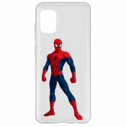 Чохол для Samsung A31 Spiderman in costume