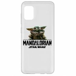Чехол для Samsung A31 Star Wars Yoda beby