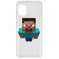 Чехол для Samsung A31 Steve from Minecraft