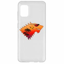 Чехол для Samsung A31 Summer Wolf with glasses Game of Thrones