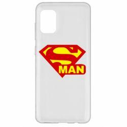 Чехол для Samsung A31 Super Man