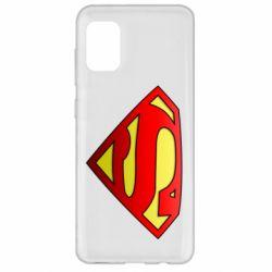 Чехол для Samsung A31 Superman Logo