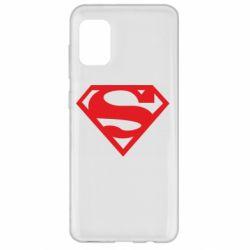 Чехол для Samsung A31 Superman одноцветный