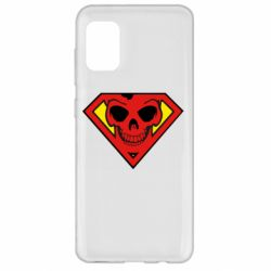 Чохол для Samsung A31 Superman Skull