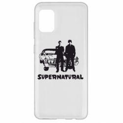 Чохол для Samsung A31 Supernatural Брати Вінчестери