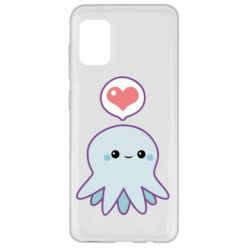 Чехол для Samsung A31 Sweet Octopus