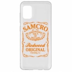 Чохол для Samsung A31 Сини Анархії Samcro