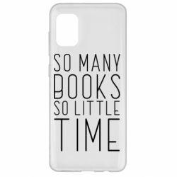 Чохол для Samsung A31 Так багато книг так мало часу