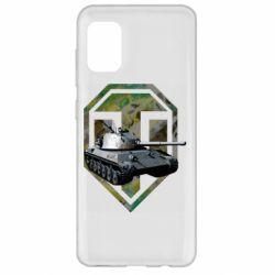 Чехол для Samsung A31 Tank and WOT game logo