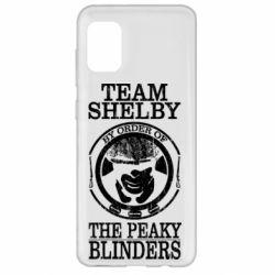 Чохол для Samsung A31 Team Shelby the Peaky Blinders
