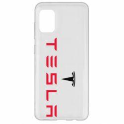 Чехол для Samsung A31 Tesla