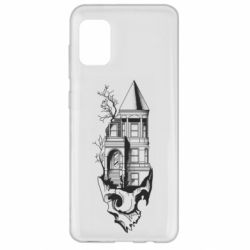 Чохол для Samsung A31 The castle is on the skull