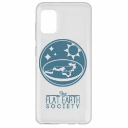 Чехол для Samsung A31 The flat earth society