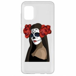 Чохол для Samsung A31 The girl in the image of the day of the dead