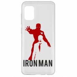 Чехол для Samsung A31 The Invincible Iron Man