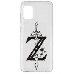 Чехол для Samsung A31 The Legend of Zelda Logo