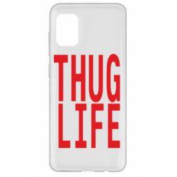 Чехол для Samsung A31 thug life