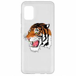 Чохол для Samsung A31 Tiger roars