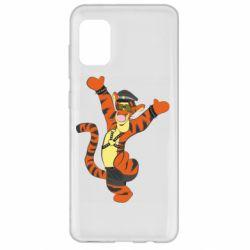 Чехол для Samsung A31 Тигра темный властелин