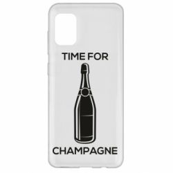 Чохол для Samsung A31 Time for champagne