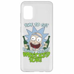 Чохол для Samsung A31 Time to get riggity wrecked son