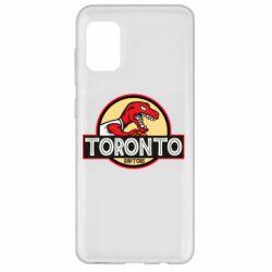 Чехол для Samsung A31 Toronto raptors park