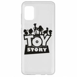Чехол для Samsung A31 Toy Story and heroes