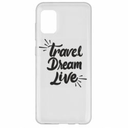 Чехол для Samsung A31 Travel Dream Live