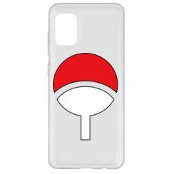 Чехол для Samsung A31 Uchiha symbol