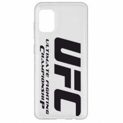 Чехол для Samsung A31 UFC