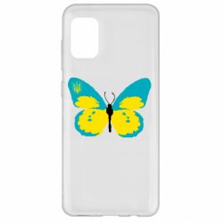 Чехол для Samsung A31 Український метелик