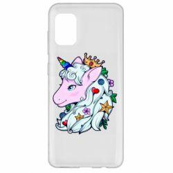 Чохол для Samsung A31 Unicorn Princess